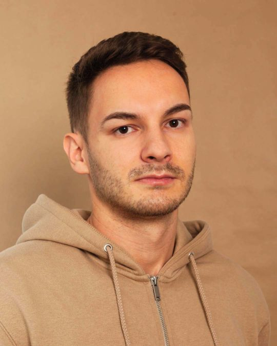 Portrait de Térence Durig